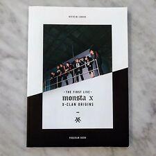 MONSTA X X-CLAN ORIGINS Concert Program Book Official original goods K-POP Idol
