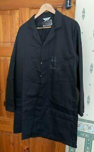 1no. 116cm (46R)  BLACK ALSICO  DUST/WORK COAT