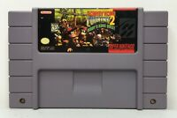 SNES Donkey Kong Country 2 Video Game Cartridge *Authentic/Cleaned/Tested/Saves*