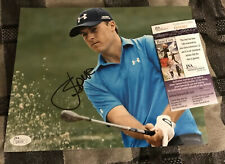 Jordan Spieth autograph signed 8x10 photo With  JSA COA