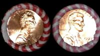 1992 D & 1992 P BU ROLL LINCOLN CENTS ORIGINAL COLLECTION ROLLS (1)ORDER = BOTH