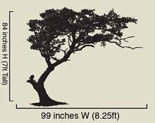 Vinyl Wall Decal Sticker TREE Shade BIG 7ft Tall 84x99