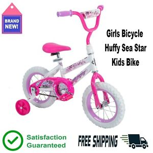 12 in. Girls Bike Huffy Sea Star Kids Bicycle Pink Training Wheels 3 - 5 yr 👧🚲