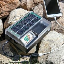 SOLA Solar Powered Battery Charger AA / AAA / C / D /Cellphone Charger