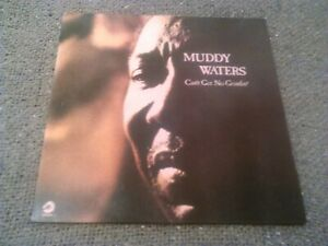 MUDDY WATERS - CAN'T GET NO GRINDIN' LP / UK 1ST PRESS CHESS 6310 129