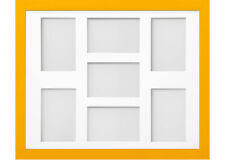 Frame Company Candy Dijon Yellow Multi Aperture Collage Photo frame & Mount