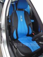 AUDI A1 / A2 / A3 CAR SEAT COVERS SB RECARO BLUE FULL SET