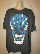 mens ecko unltd  t-shirt 2XL nwt big ecko skull gray