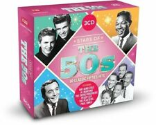 Stars Of The 50s: 60 Classic Fifties Hits by Various New Music CD