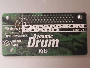 Roland SRX-01 and SRX-10 Expansion Card Bundle