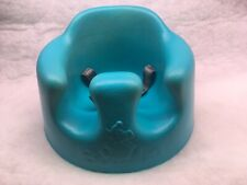 Bumbo Seat Baby Floor Chair With Safety Belts Straps Aqua Blue