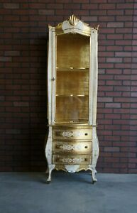 French Style Display Cabinet ~ Curio Cabinet ~ Vitrine