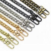 "47"" Replacement Purse Chain Strap Handle Shoulder Crossbody Handbag Bag Metal"