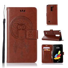 For LG G Stylo 2 / Stylus 2 LS775 Leather Wallet Holder Flip Stand Case Cover
