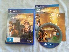 Shenmue I & II (Playstation 4, 2018) PS4 AUS PAL