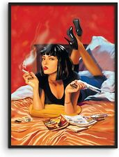 Posters for 90s Room Aesthetic Quentin Tarantino  Wall Decor Poster [No Framed]