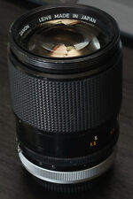 Canon 135mm f/2.5 FD SC super sharp lens. With FD TO SONY A7 A7R NEX ADAPTER