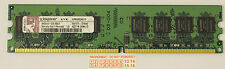 2GB (1GB X 2) DDR2 2RX8 PC2-6400 6400U DDR2-800 Mhz de memoria DIMM RAM 240 Pin PC