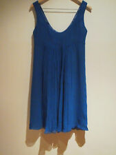 WOMEN'S BARBADOS CLOTHING BLUE BABY DOLL / PARTY DRESS - SIZE M - NWT RRP $169
