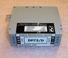 DP75/D TELEMATIC LTD DIN RAIL LIGHTNING & SURGE ARRESTOR 64V 600KHz GRAY