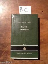STEEN Marguerite, Rose Timson. 1957, Prima edizione Aldo Martello Editore