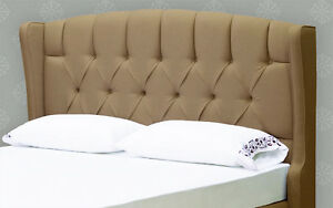 NEW Designer French Queen  / King Size Storage Platfrom Bed & Tufted Head Board