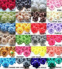 "(24pcs) 1.75"" Silk Roses - Artificial Flower Heads Lot - Wedding decoration"