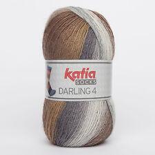 *Neuheit* Katia Darling 4  Socks mit schönem Farbverlauf 100 g Farbe 61