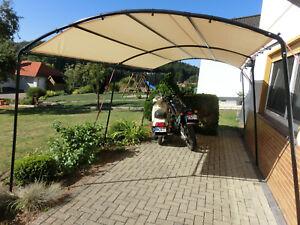 mobiler Rundbogen Carport 2,7m x 4,9m x 2,4m o.3m Terrassen Überdachung Car Port