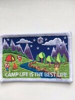 Girlguiding camp blanket badge - Camp Life Is The Best Life