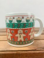 Merry Christmas Gingerbread Men Cupcakes and Candy Canes Coffee Mug