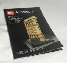 Lego Architecture 21023 Flatiron Building 2015 PC Ct 471