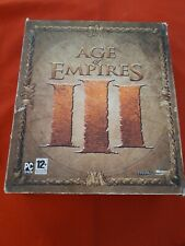 AGE OF EMPIRES III 3 COFFRET EDITION COLLECTOR BIG BOX FAT PC CD-ROM VF COMPLET