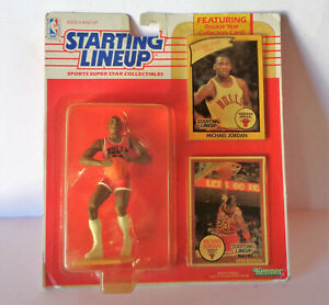 RARE SEALED 1990 Kenner Starting Lineup Michael Jordan 1984 ROOKIE CARD