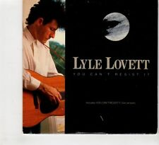(HC803) Lyle Lovett, You Can't Resist It - 1989 CD