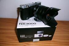 Appareil photo SAMSUNG NX3000 avec objectif 18-55 OIS Stabilisée