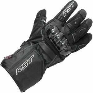 RST Rallye WP Motorcycle Glove Black