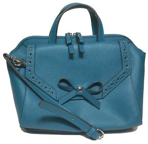NWT Jessica Simpson Woman's Satchel, Teal Color MSRP: $98.00