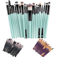 20* Eyeshadow Blending Makeup Brushes Set Pro Eye Make Up Brush Eyebrow Eyeliner