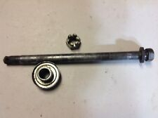 YAMAHA RT 100 (01) FRONT WHEEL AXLE AND SPACER.  (PARTS AVAILABLE)
