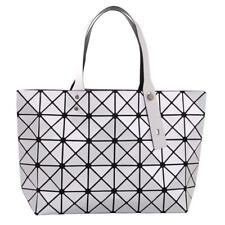 Silver Diamond PU Leather Women Tote Bag Purse Shoulder Handbag Bag by Draizee