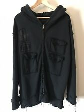 Mens Drop Dead Deathwish Hoodie Large (Rare!)