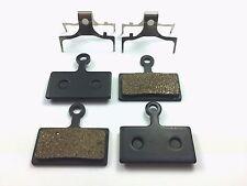 Shimano BR M615 M666 M675 M785 M985 Semi Metal Brake Pads - 2 pairs