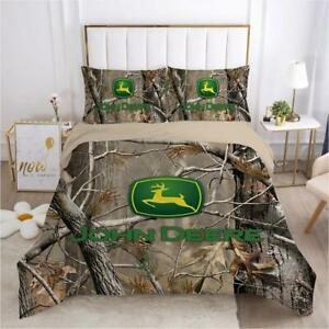 Agricultural Construction Forestry Machine Deer Logo Bedding Sets Gifts Fans