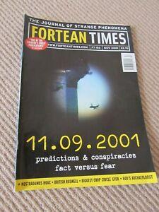 Fortean Times Magazine - FT152 - November 2001 - September 11 Conspiracies
