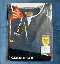 Rare BNWT Diadora Scotland Season 2003-2005 Home Short Sleeve Shirt Size XL