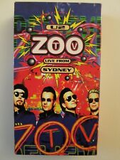 U2 Zoo Tv Live From Sydney Vhs Video Tape Full Concert