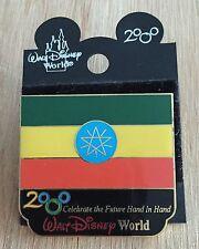 Millennium Village WDW Flag Pin Ethiopia Pavilion 2000 Disney Pin NEW ON CARD
