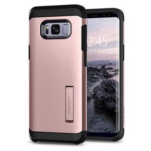 Spigen®Samsung Galaxy S8 / S8 Plus [Tough Armor Rosegold] Shockproof Case Cover