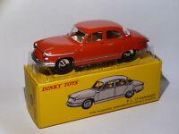 Panhard PL 17 berline Rouge - ref 547 au 1/43 de dinky toys atlas / DeAgostini